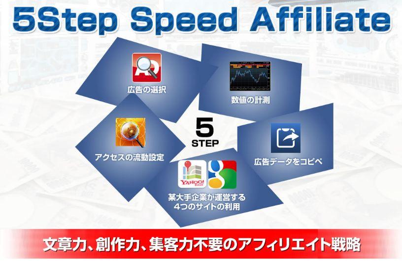 5ステップスピードアフィリエイト